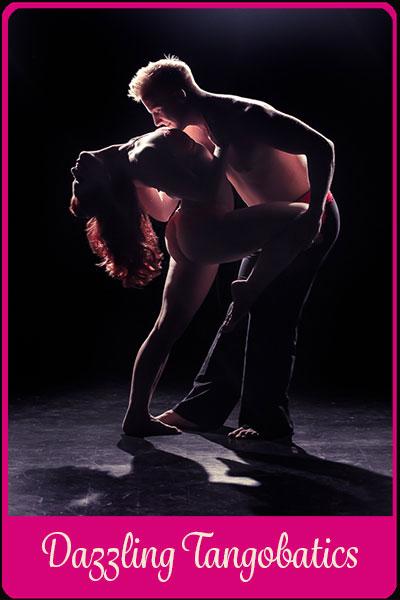 acrolicious burleski sirkus show dazzling tangobatics